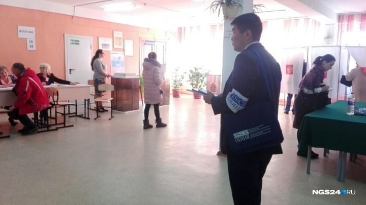 Представители из Европы приехали в Красноярск следить за выборами президента