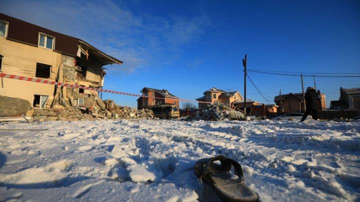 Обрушение дома в Красноярске: спасатели разгребли завалы и обнаружили второго погибшего