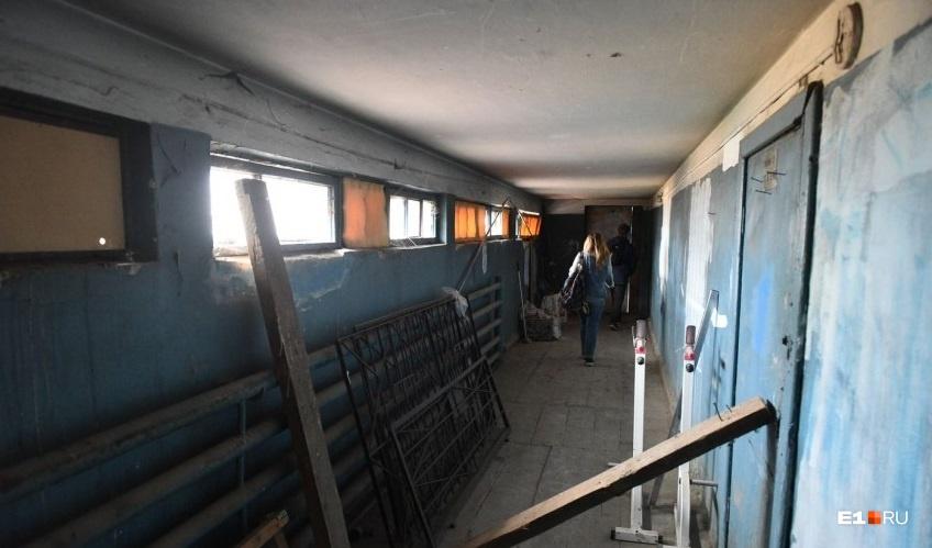 А это один из коридоров