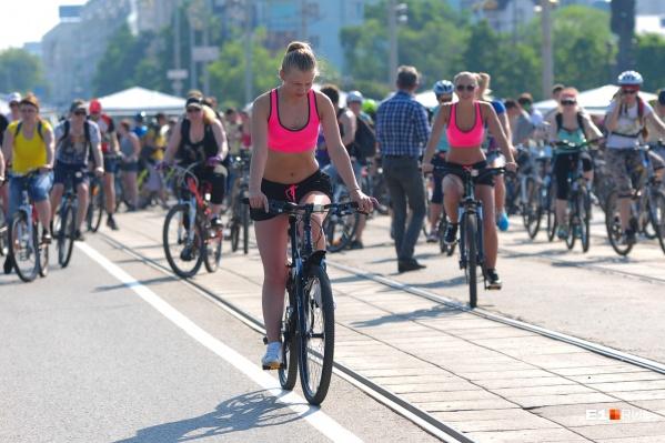 Велосипедисты поедут по проспекту Ленина