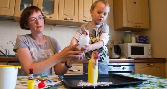 Научное шоу на кухне: устраиваем взрыв в тарелке вместе с многодетной мамой с Ботаники