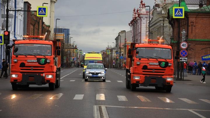 В День Победы автобусы из центра пускают в объезд