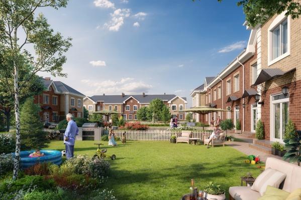 Уникальный проект делает доступным европейский формат загородного жилья