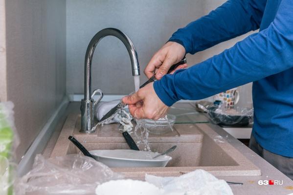 Наконец-то самарцы смогут искупаться и помыть посуду с комфортом