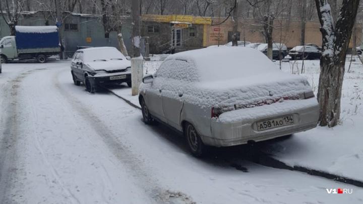 Волгоградских автохамов оштрафовали за парковку на зеленой зоне
