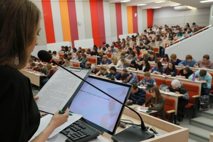 «Тотальный диктант» проходит в Екатеринбурге уже много лет