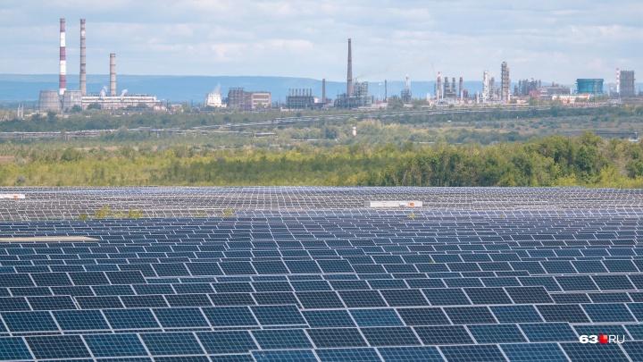 Энергия самарских лучиков: как работает самая крупная в России солнечная электростанция