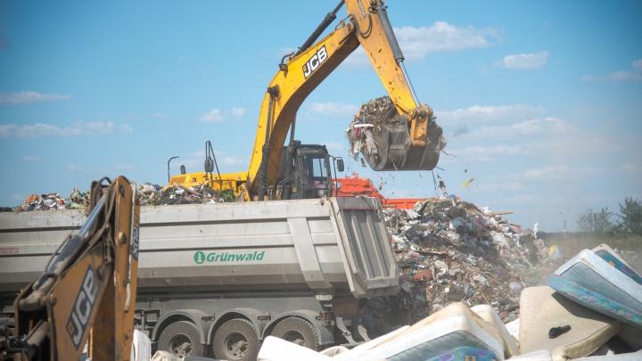 После Дня города в Ростове мусор вывозили КАМАЗами