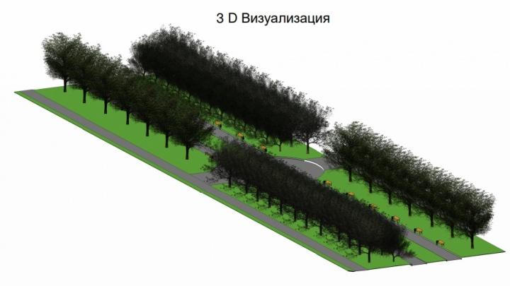 В Лебяжье и Шумихе обустроят дворы и бульвар