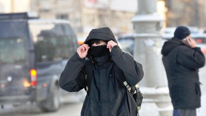Уральским школьникам разрешили сидеть дома при -25°С