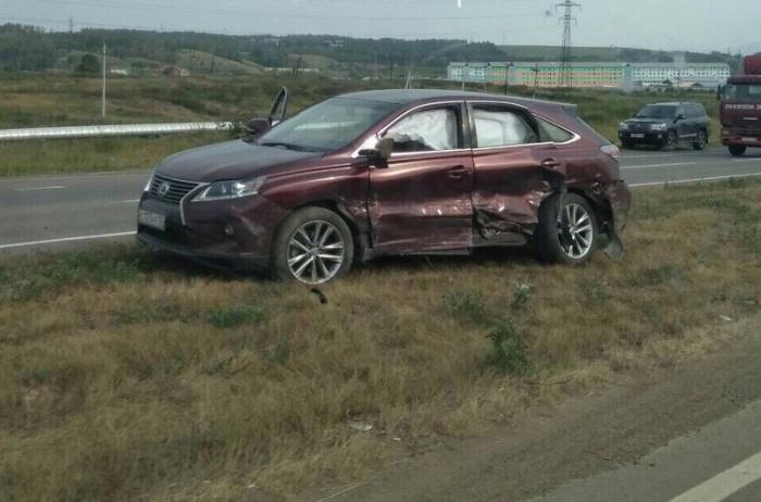 Все произошло на 14-м км дороги Красноярск – Енисейск, подтвердили в ГИБДД
