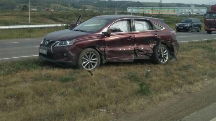 Пьяный пенсионер на «Тойоте» устроил аварию на трассе за «Солнечным»