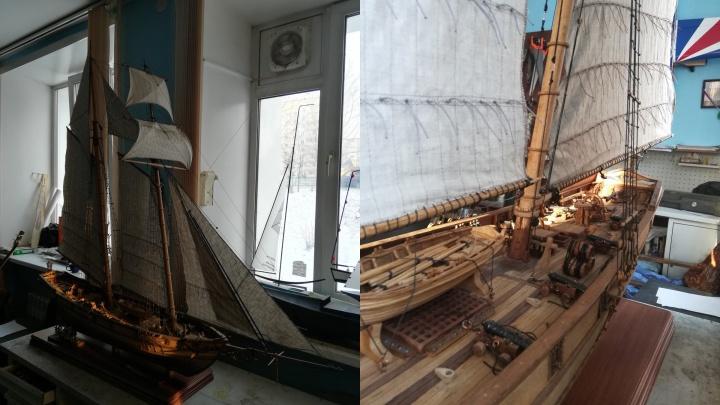 На аукционе выставили мини-копию корабля XIX века за 5,2 миллиона рублей