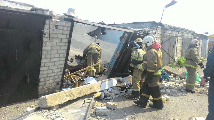 На улице Калинина произошёл взрыв в гараже