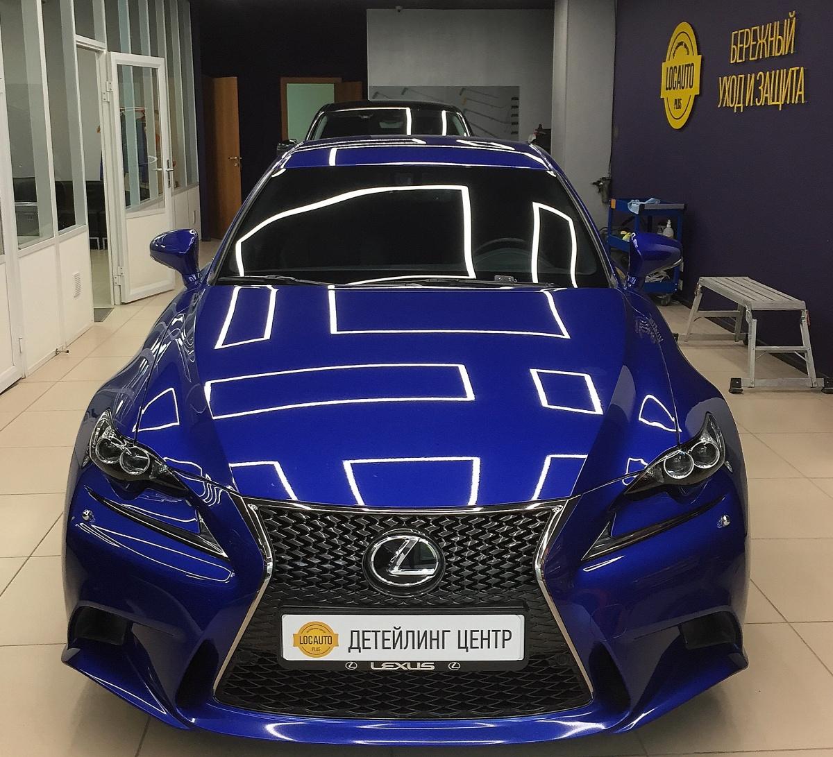 Lexus под блестящей защитой Gyeon