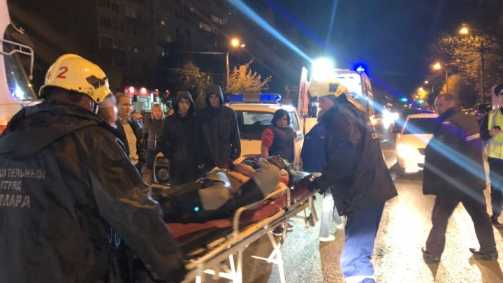 В Самаре на Ставропольской — Каховской бабушку затянуло под трамвай
