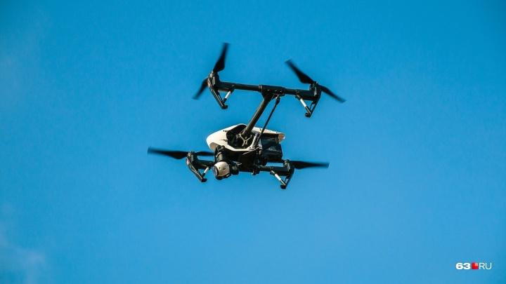 В Самарской области крыши домов будут проверять с помощью дронов