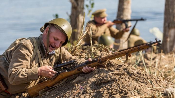В «Кумже» проходит реконструкция первого дня Великой Отечественной войны