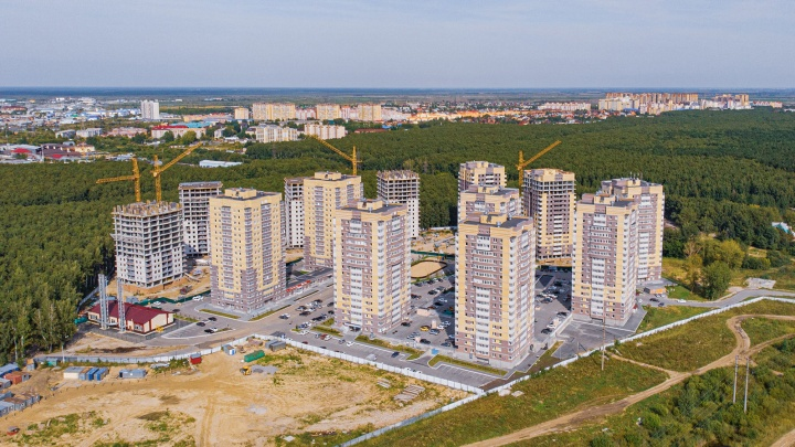 В Тюмени строят масштабный жилой комплекс «Горизонт»