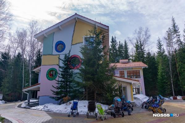 Вчера «Дом радужного детства» принял 11 первых пациентов