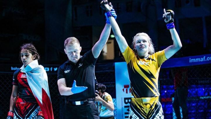 Волгоградка стала бронзовым призером чемпионата мира по ММА