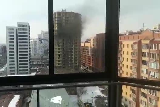 Спасатели узнали о пожаре из публикации НГС