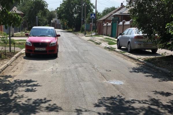 Эту дорогу отремонтировали два дня назад