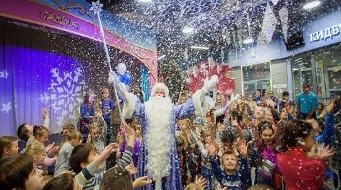 Осенние каникулы и предпродажи билетовна новогодние праздники в «КидБурге»