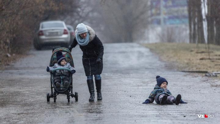 Осторожно, гололед: Волгоград к ночи накроет экстремальным ледяным дождём