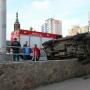 Автомобилистку, которая разнесла машины в центре Челябинска, врачи после осмотра отпустили домой