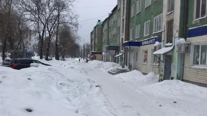 «Ждут весну»: Дмитрий Махонин раскритиковал качество уборки снега в центре Перми