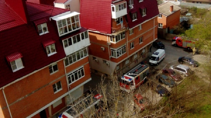 В Ростове из-за пожара эвакуировали жителей многоэтажки