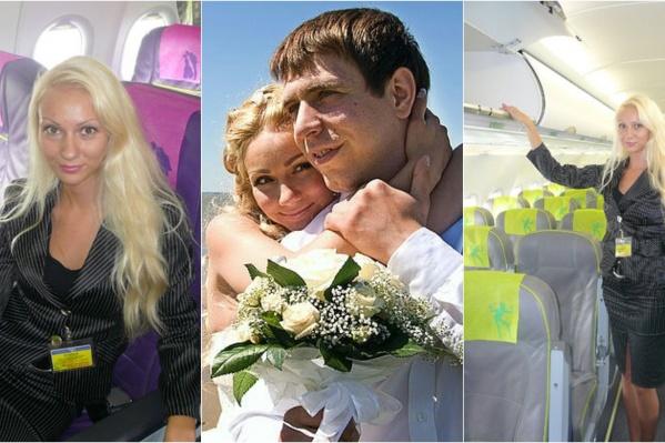 На фото Татьяна Буркацкая (35) и её муж Алексей (35)