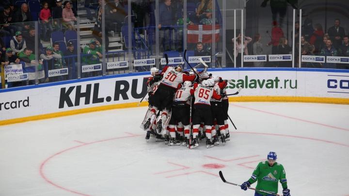 Золотая шайба Бондарева: «Авангард» вышел в финал Кубка Гагарина после гола «Салавату» в овертайме