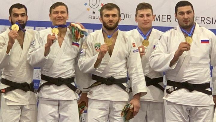 Зауральский спортсмен стал бронзовым призером по дзюдо на Всемирной летней универсиаде