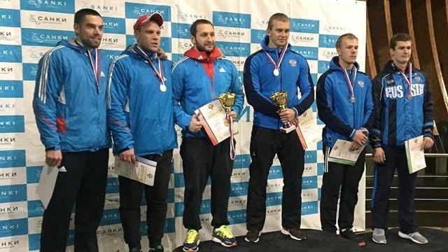 Михаил Мордасов (третий справа) год назад был кандидатом в олимпийскую сборную России