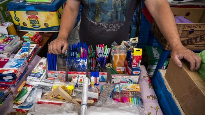 Скоро за парту: в Новосибирске открываются школьные ярмарки