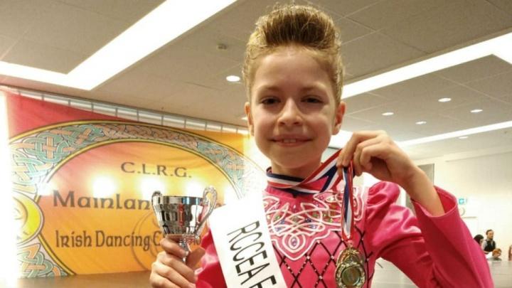 В планах — победа на ЧМ: 9-летняя уфимка взяла «серебро»на чемпионате Европы по ирландским танцам
