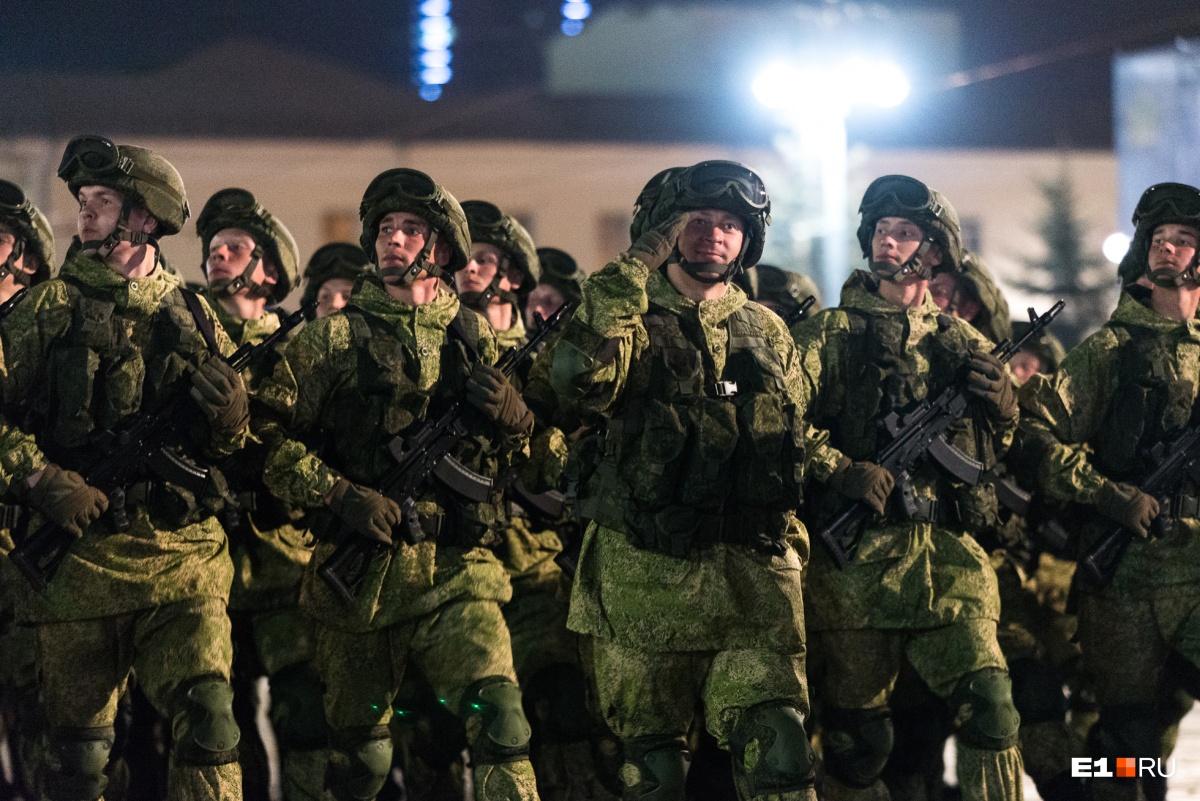 Военные очень долго готовились к грандиозному параду Победы