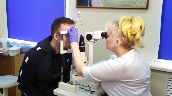Самарские врачи открыли глаз пациенту из Италии