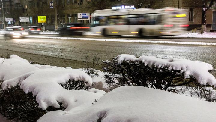Снег, ветер и метели: погода вновь испытывает Волгоград на прочность