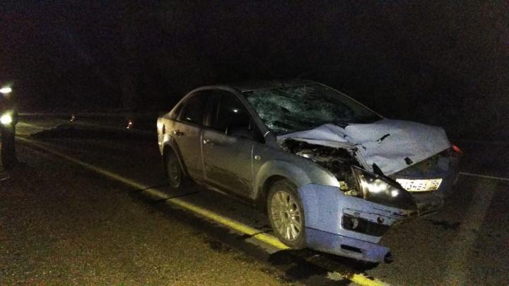 Мелькнул перед машиной как тень: в Белоярском районе пешеход погиб под колёсами иномарки