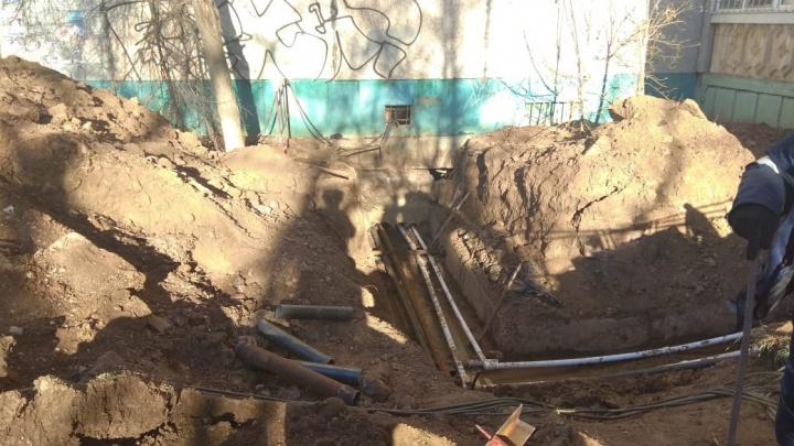 В Уфе в двух местах прорвало водопровод: без горячей воды остались 29 многоэтажек