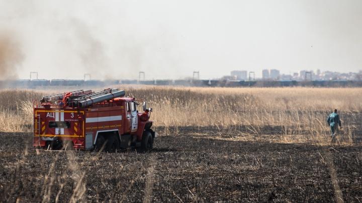 С 22 по 24 июня в Ростове ожидают чрезвычайную пожароопасность