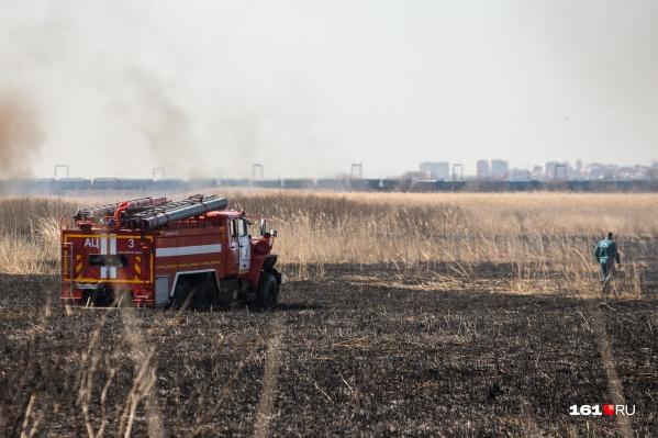 О повышенной пожароопасности предупреждают с мая