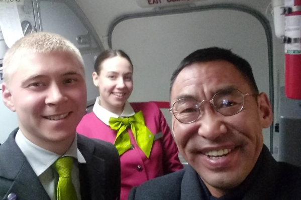Николай Григорьев — врач-уролог, эндокринолог. Он прилетел в Новосибирск, а потом поехал в Новокузнецк на конгресс