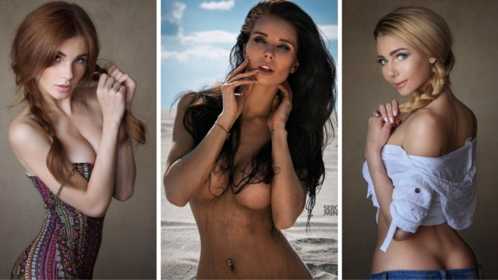 Сексуальные девочки из Екатеринбурга разделись, чтобы попасть на обложку журнала MAXIM (18+)