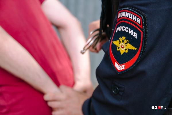 Его поймали на территории Куйбышевского района