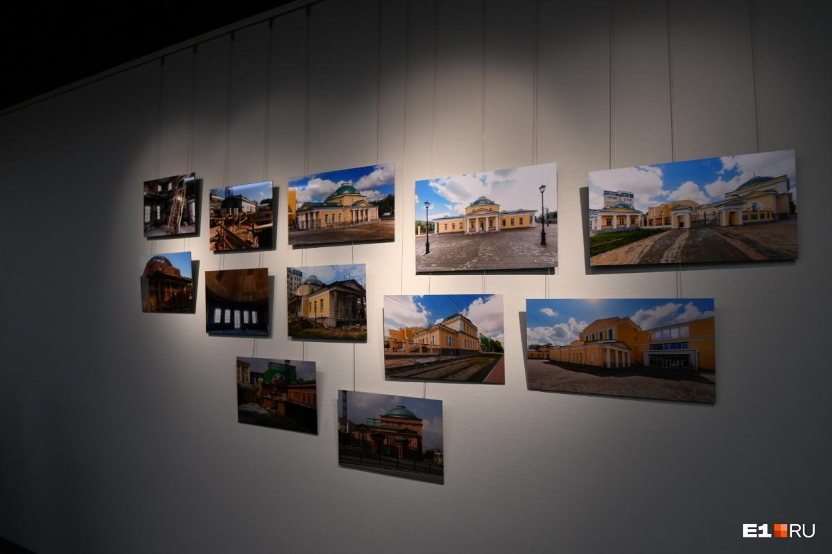 На этих фото видно, как менялись здания госпиталя