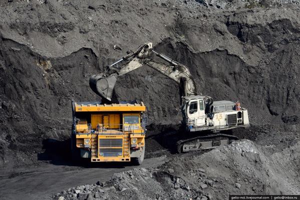 Добыча угля на Колыванском разрезе идёт уже более 10 лет